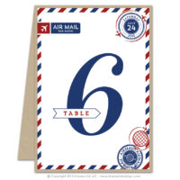 Airmail Table Numbers