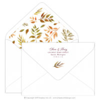 Autumn Leaves Mailing Envelopes