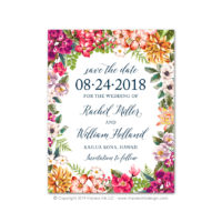 Bold Botanicals Save the Dates