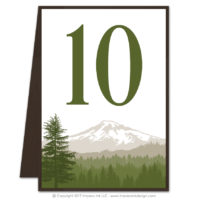 Cascade Table Numbers