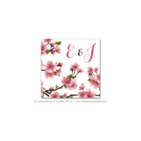 Cherry Blossoms Favor Tags