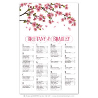 Cherry Blossoms Seating Charts