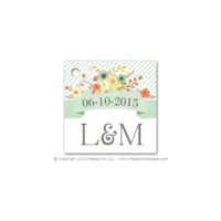 Country Chic Favor Tags