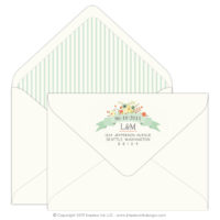 Country Chic Mailing Envelopes