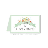 Country Chic Place Cards