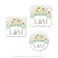 Country Chic Stickers
