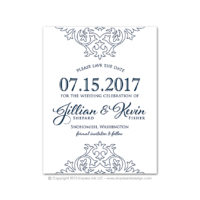 Damask Save the Dates