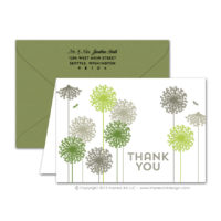 Dandelions Thank You Cards