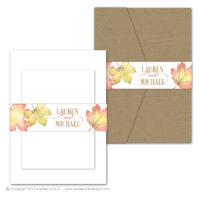 Fall Foliage Belly Bands