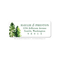Forest Address Labels