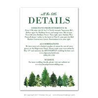 Forest Enclosure Cards
