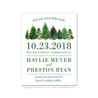 Forest Save the Dates