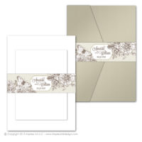 French Peony Belly Bands