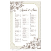 French Peony Seating Charts