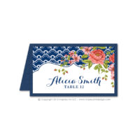 Italian Riviera Place Cards