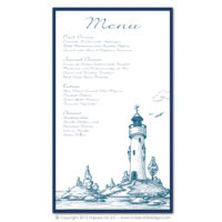Lighthouse Menus