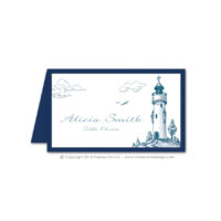 Lighthouse Place Cards
