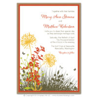 Meadow Layered Invitations