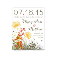 Meadow Save the Dates