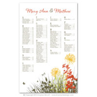 Meadow Seating Charts