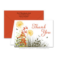 Meadow Thank You Cards