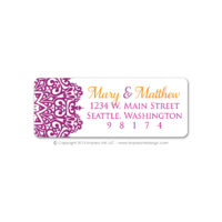 Moroccan Address Labels