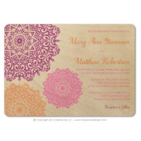 Moroccan Filigree Wood Cards