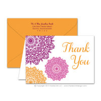 Moroccan Thank You Cards