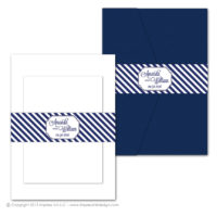Nautical Stripes Belly Bands