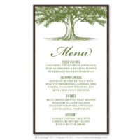 Oak Tree Menus