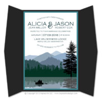 Wilderness Gatefold Invitations