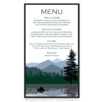 Wilderness Menus