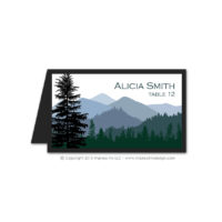 Wilderness Place Cards