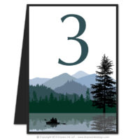 Wilderness Table Numbers