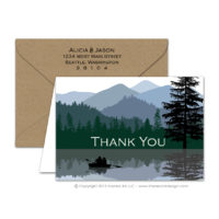 Wilderness Thank You Cards